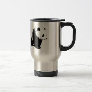 Black & White Panda Travel Mugs