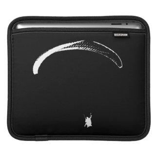 Black & White Parachute - tablet sleeve