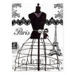Black White Paris Fashion Mannequin