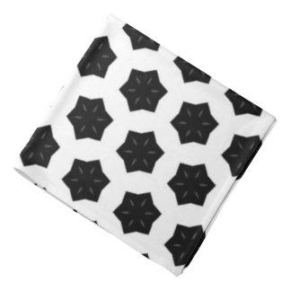 Black & White Patterns | Hexagons VI Do-rags