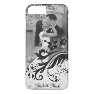 Black White Photo Template iPhone 8 Plus/7 Plus Case
