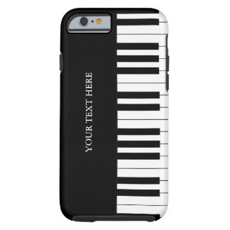 Black & White Piano Keys iPhone 6 case