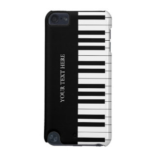 Black & White Piano Keys iPod Touch (5th Generation) Cover
