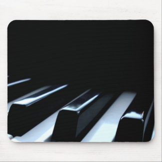 Black & White Piano Keys Mouse Mat