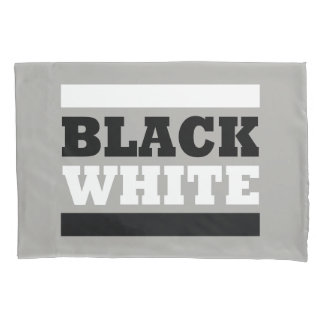 Black & White Pillowcase
