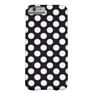 Black White Polka Dots - iPhone 6 case