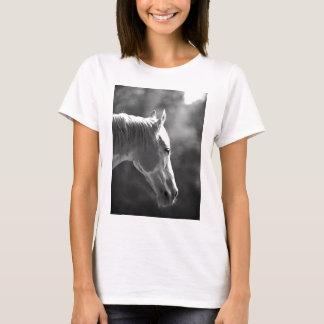 Black & White Pop Art Horse T-Shirt