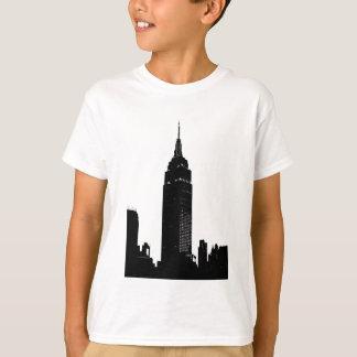 Black & White Pop Art New York T Shirt
