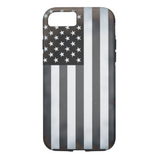 Black & White Pop Art US American Flag iPhone 8/7 Case