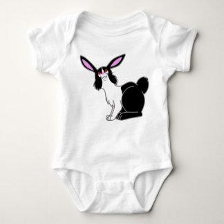 Black & White Rabbit Kids & Baby Shirt