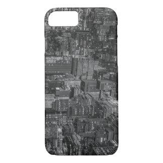 Black White Red New York City Skyline iPhone 7 Case