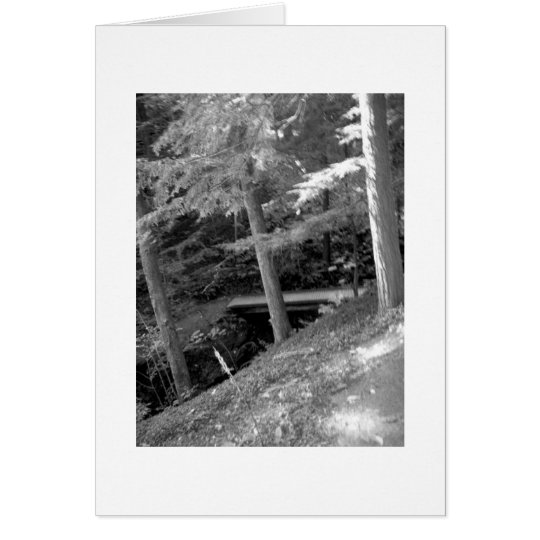 Black & White Root Glen Card