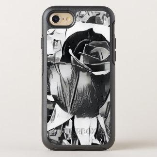 Black & White Rose iPhone 7/8 Otterbox Case
