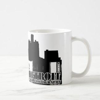 Black & White Shooting Detroit Plain Mug