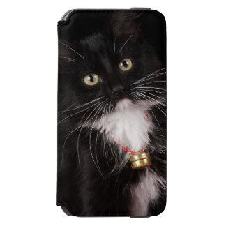 Black & white short-haired kitten,2 1/2 months incipio watson™ iPhone 6 wallet case