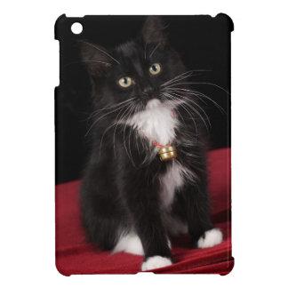 Black white short-haired kitten 2 1 2 months iPad mini cases