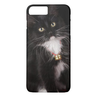 Black & white short-haired kitten,2 1/2 months iPhone 8 plus/7 plus case