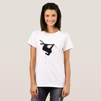 Black & White Skier T-Shirt