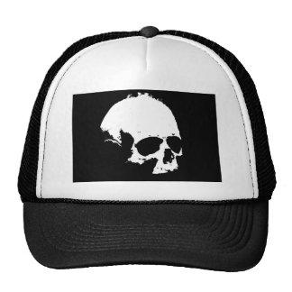 Black & White Skull Cap