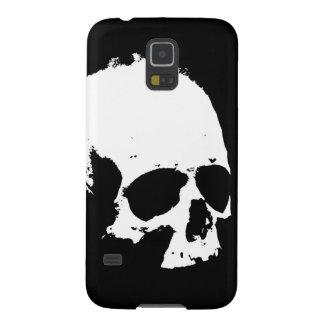 Black & White Skull Galaxy S5 Cases