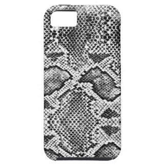 Black & White Snakeskin Pattern iPhone 5 Cover