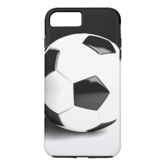 Black White Soccer Ball iPhone 7 Plus Case