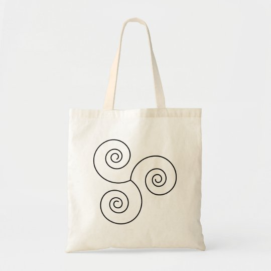 Black/White Spiral of Life