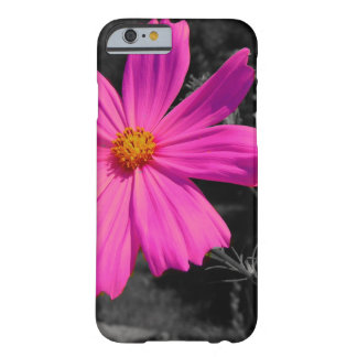 black&white&splash pink blossom barely there iPhone 6 case