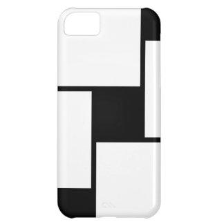 Black White Squares Case For iPhone 5C
