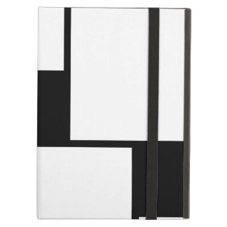 Black & White Squares Cover For iPad Air