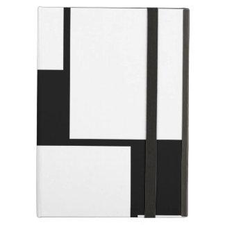 Black & White Squares iPad Folio Cases