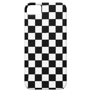 Black-white Squares iPhone 5/5S Case