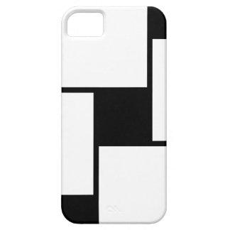 Black White Squares iPhone 5 Cases