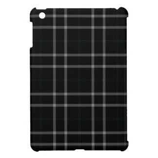 Black White Squares Tartan Plaid Cover For The iPad Mini