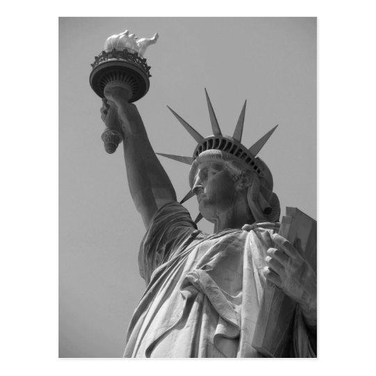 Black & White Statue of Liberty New York