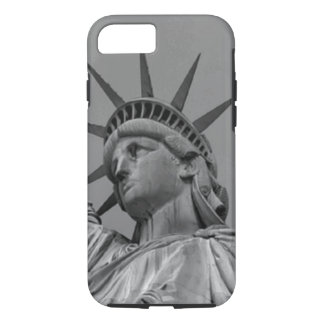 Black & White Statue of Liberty New York iPhone 7 Case