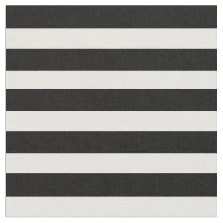 Black & White Stripe Fabric