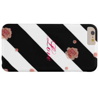 Black & White Stripe Phone Case