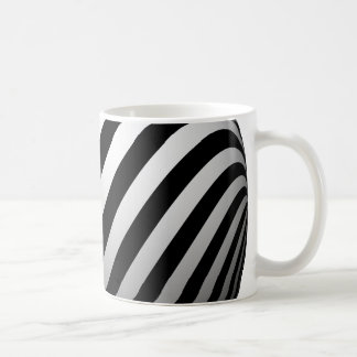 Black & White Stripes Mug