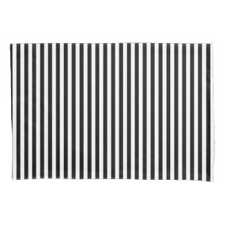 Black&White Stripes Pillow Case