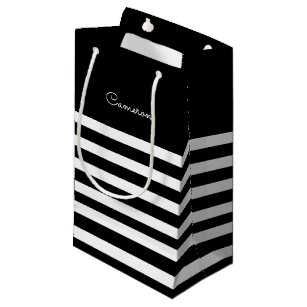Black And White Wedding Gift Bags Zazzlecouk