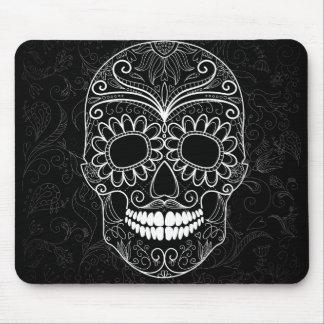 Black & White Sugar Skull Mousepad