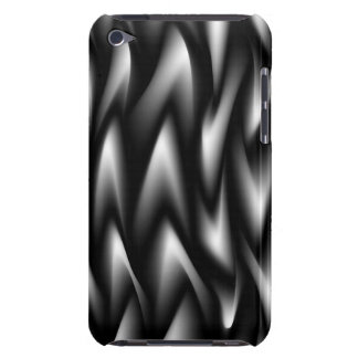 Black & White Swirl  iPod Case-Mate Case
