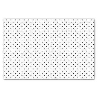 Black & White Swiss Dots | Tissue Paper