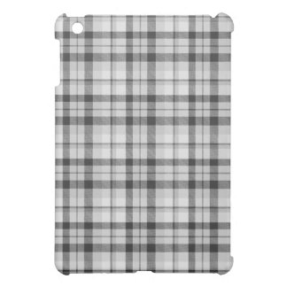 Black&white Tartan Case iPad Mini Case