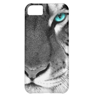 Black White Tiger iPhone 5C Cover
