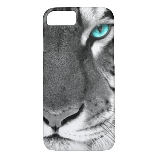 Black White Tiger iPhone 7 Case