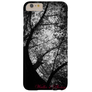 Black & White Trees Barely There iPhone 6 Plus Case