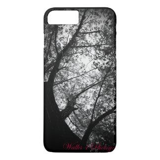 Black & White Trees iPhone 7 Plus Case