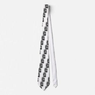 Black & White Tulip Tie